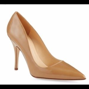 kate spade new york licorice patent heels - 9.5